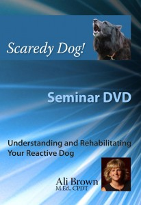 Scaredy Dog Seminar DVD Cover